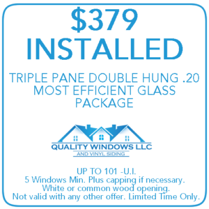 379 Installed Triple Pane Double Hung