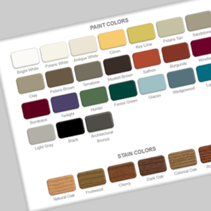 Paint Color Options