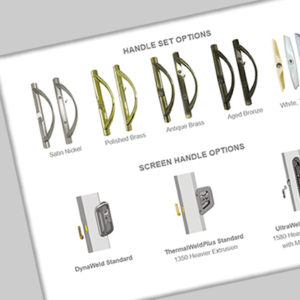 Handle Set Options